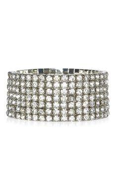 Gros bracelet stretch orné de pierres