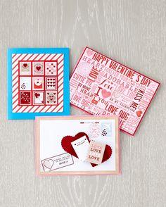 Valentine's Day Ideas: Customized Valentine's Day Cards