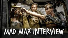 Check out our #MadMax interview! #TomHardy #CharlizeTheron