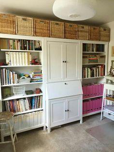 Super Craft room ikea hemnes | Craft Room | Pinterest | HEMNES, Room and  AX27