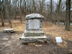 Bachelor's Grove Cemtery - #2 on Rent.com's countdown of the most haunted places in Chicago. #haunted #ghosts #spirits #Chicago #spooky