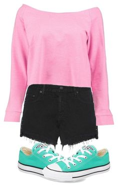 """""""Untitled #84"""" by pinkpotatos ❤ liked on Polyvore featuring rag & bone, Boohoo and Converse"""