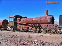 Cementerio de trenes, Salar de Uyuni en Bolivia #Bolivia #4x4 #4wd #Travel #tours #overland #Nissan
