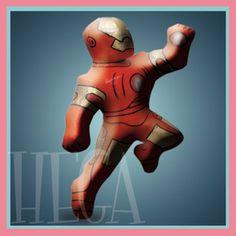 Piñata para fiestas infantiles, figura Iron man $ 400 pesos envió a domicilio sin costo( solo ciudad de mexico)