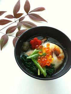 お雑煮/ Zōni; Special Soup for New Years Day