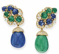 BVLGARI: ¿azul o verde? ¿Christie's o Sotheby's?