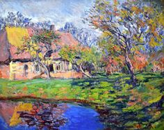 Claude Monet - Chaumiere Normande, 1888