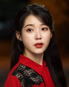 Her acting is so pure. The beauty. Korean Actresses, Korean Actors, Iu Twitter, Luna Fashion, Korean Celebrities, Celebs, Ulzzang Girl, Korean Beauty, K Pop
