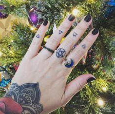 The four elements, by UK tattoo artist Emma Garrard #tattoo #pagan #elements…