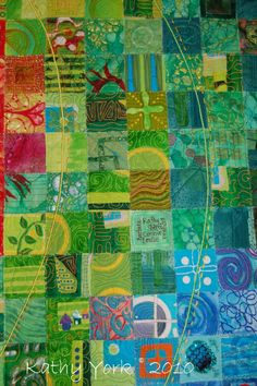 Art Quilts by Kathy York: June 2010