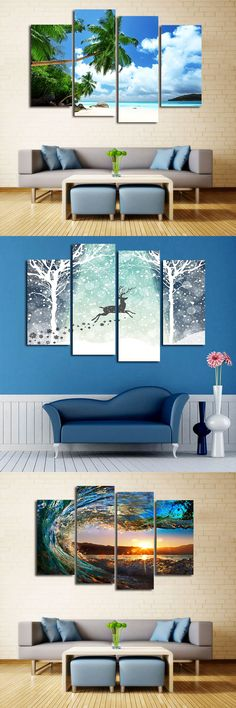 Canvas paintings