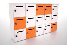 Storage lockers with