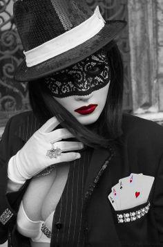 Card Shark #aces #splashofcolor