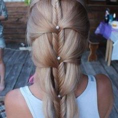 Attractive brown hair style for ladies