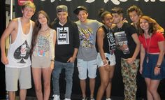 Classic meet and greet photo... And then there's Harry...