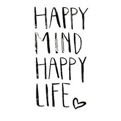What do you guys do as a part of your daily mindfulness regime? Happy Mind Happy Life, Happy Minds, Positive Thoughts, Positive Vibes, Simple Life Quotes, Quote Backgrounds, Tumblr Quotes, True Words, Display