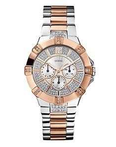 Guess Damen-Armbanduhr Analog Quarz Edelstahl WOO24L1 - http://uhr.haus/guess/guess-damen-armbanduhr-analog-quarz-edelstahl-10