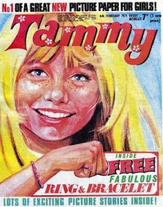 Tammy, girl's comic, Most comins had free gifts every week. I didn't realise I was so well read! Excited Pictures, New Pictures, Vintage Comics, Vintage Books, Vintage Ads, Tammy Doll, Picture Story, Comics Girls, The Good Old Days