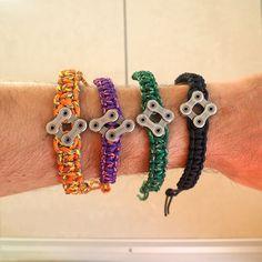 Macrame, Chain, Bracelets, Jewelry, Fashion, Moda, Jewlery, Jewerly, Fashion Styles