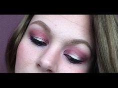 Pink Halo Eye Shadow Look - YouTube