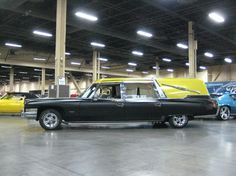Hot Rod Hearse | Hot Rod Hearse with custom bed, TV, DVD, stereo, Cragars with TA ...