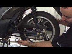 Como limpar e lubrificar a corrente da sua moto