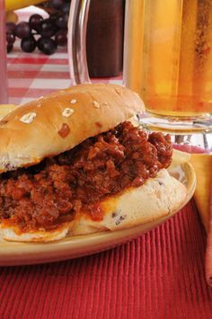 Sloppy Joes  oppskrift (4 personer)