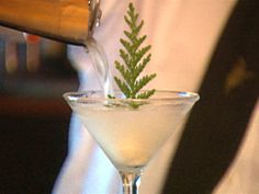 """The Alpine Martini from the former Cascadia restaurant in Seattle had a DOUGLAS FIR SORBET """"snowball"""" at the bottom. It was so delicious. Man. Who else misses that drink?    (@Haley Van Liew Edwards, I feel like we must've enjoyed a few together.)"""