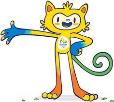 Lfernandes: Os mascotes dos jogos Olímpicos e Paralímpicos Rio...