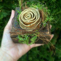 Personalized Wood Gift Box  Wooden Gift Box by CarolaFlowerDesigns #danishandmadewedding