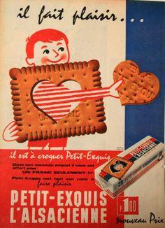 Biscuits l'Alsacienne - Biscuits - Publicités anciennes