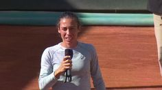 "5/6/17 WTA Morocco Open Runner-Up Francesca Schiavone via WTA: ""It doesn't matter where you come from, or where you are – everything can be possible!"" #WTARabat 38k"