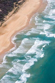 75 Mile Beach - Fraser Island, Queensland, Australia