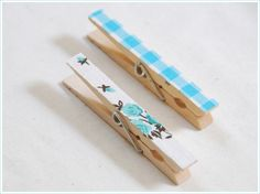 DIY Clothespin Magnets! | One Good Thing by Jillee