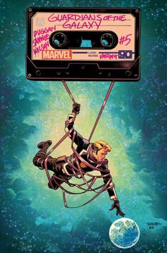 All-New Guardians of the Galaxy #5 - Chris Samnee