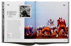 GOESELE Johnny Unitas, Magazine Layout Design, Editorial Design, Creative Director, Inspiration, Biblical Inspiration, Inspirational, Inhalation, Editorial Layout