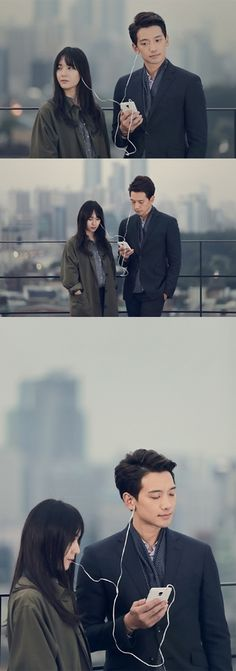 [article] Rain and f(x) Krystal Share Earphones for 'My Lovely Girl.'