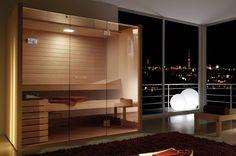 #Effegibi #Sky 80 #Sauna Glass SA 55 20 0013 | im Angebot auf #bad39.de | #Hammam #Sauna #Bad #Badezimmer #Italien