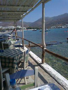 Amorgos.island Katapola, Greece by Monica Agrimonti