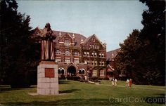 Comenius Hall - Moravian College Bethlehem Pennsylvania