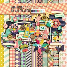 Scrapbooking TammyTags -- TT - Designer - Miu Creation, TT - Item - Kits or Collections