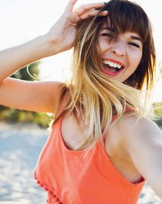 Favorite Ombre Hairstyles with Bangs 2017-2018