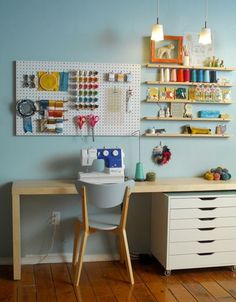Some day, when I have a craft ROOM, this will come in handy! :)