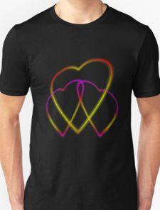 Glowing Hearts T-Shirt