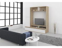 Obývací stěna Look Televizní obývací stěna dánské výroby, vyrobena z foliované DTD o síle 18 mm. Stěna Look je snadno udržovatelná, moderní a je nabízena ve dvou typech dezénu – celobílá a kombinace dubu a … Flat Screen, Mirror, Furniture, Home Decor, Blood Plasma, Decoration Home, Room Decor, Mirrors, Flatscreen