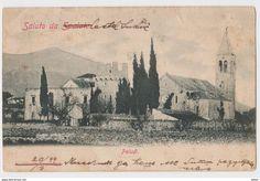 PALUDI - CROATIA - CASTEL LUKSIC - 1899 - SPLITSKO DALMATINSKA ZUPANIJA