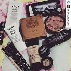 Coleção de produtos da NYX da blogueira @marisantarem