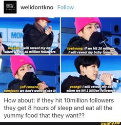 I agree with that. I would much rather see them eat and be happy while having a rest, than their abs.