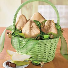 look at the net weight too make sure it is size you want; the images look bigger than they are........St. Patrick's Day Gift Basket
