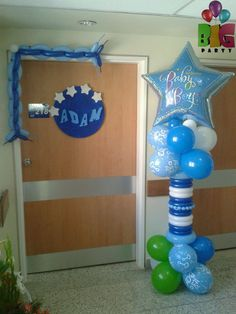 Hanukkah, Balloons, Wreaths, Party, Design, Home Decor, Decorations, Globes, Decoration Home
